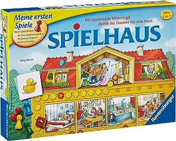 Ravensburger Spielhaus Niños Juego de Mesa de Aprendizaje - Juego ...