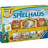 Ravensburger Spielhaus Niños Juego de mesa de aprendizaje - Juego de tablero (Juego de mesa de aprendizaje, Niños, 20 min, 4 año(s), 7 año(s))