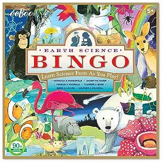 eeBoo Earth Science Bingo Game for Kids