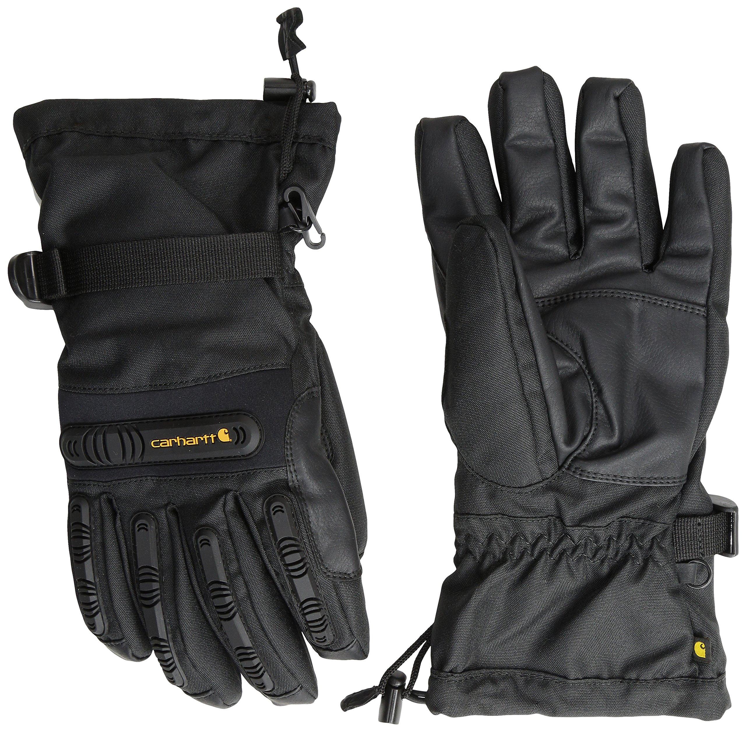 Carhartt Men's Impact Gauntlet Glove, Black, Medium