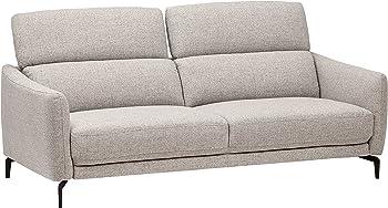 Rivet Kaden Mid-Century Modern Adjustable Headrest Loveseat Sofa