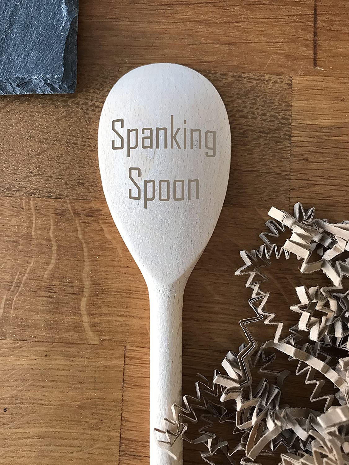 Spanking Spoon Engraved Wooden Spoon Cooking Spoon Can Be Used As A Keepsake Or As A Cooking Implement