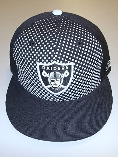 Image Unavailable. Image not available for. Color  Oakland Raiders Flat  Bill Fitted Fashion Reebok Hat - Size ... 18434f2d7