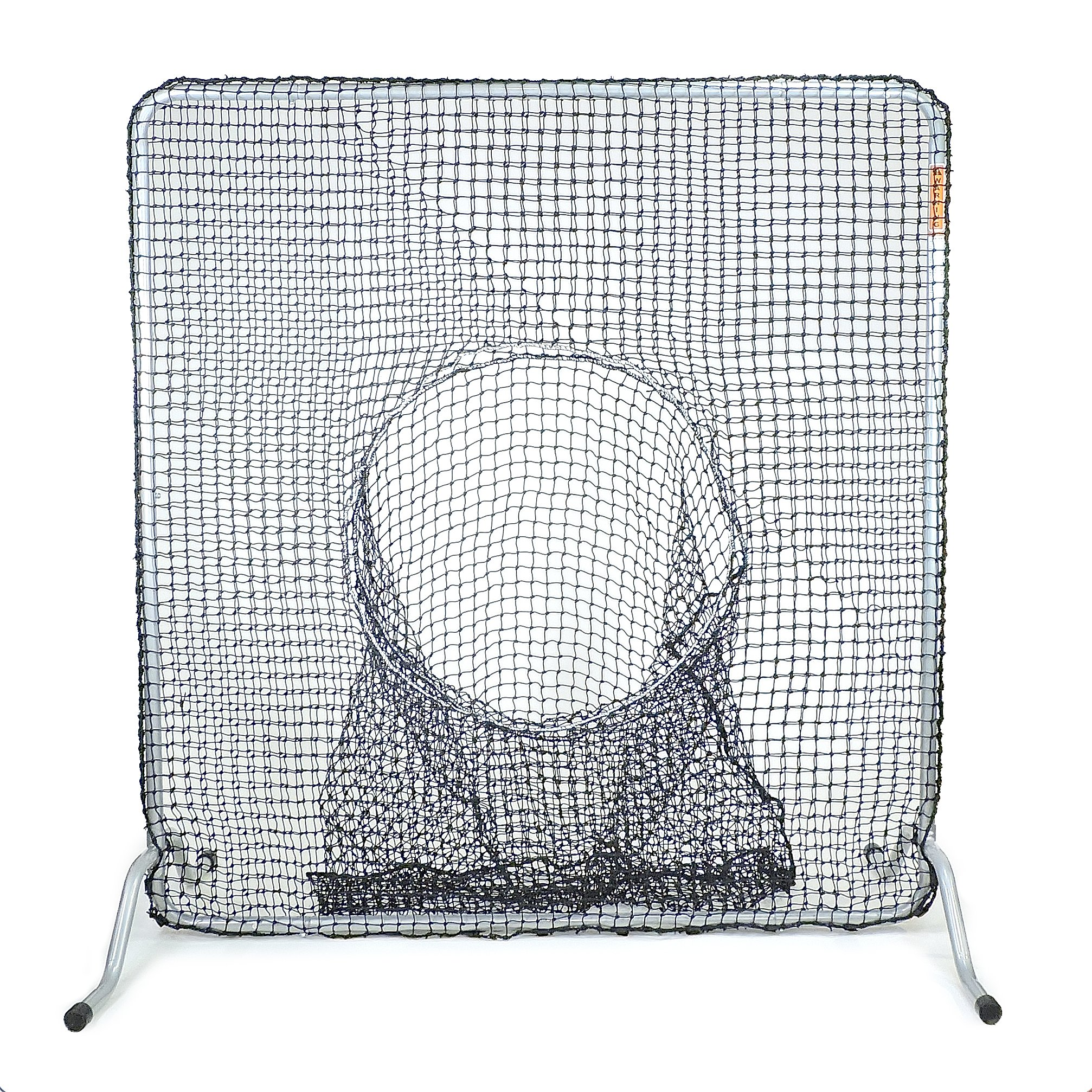 Jugs Fixed-Frame Square Screen with Sock-Net (6-Feet) by Jugs