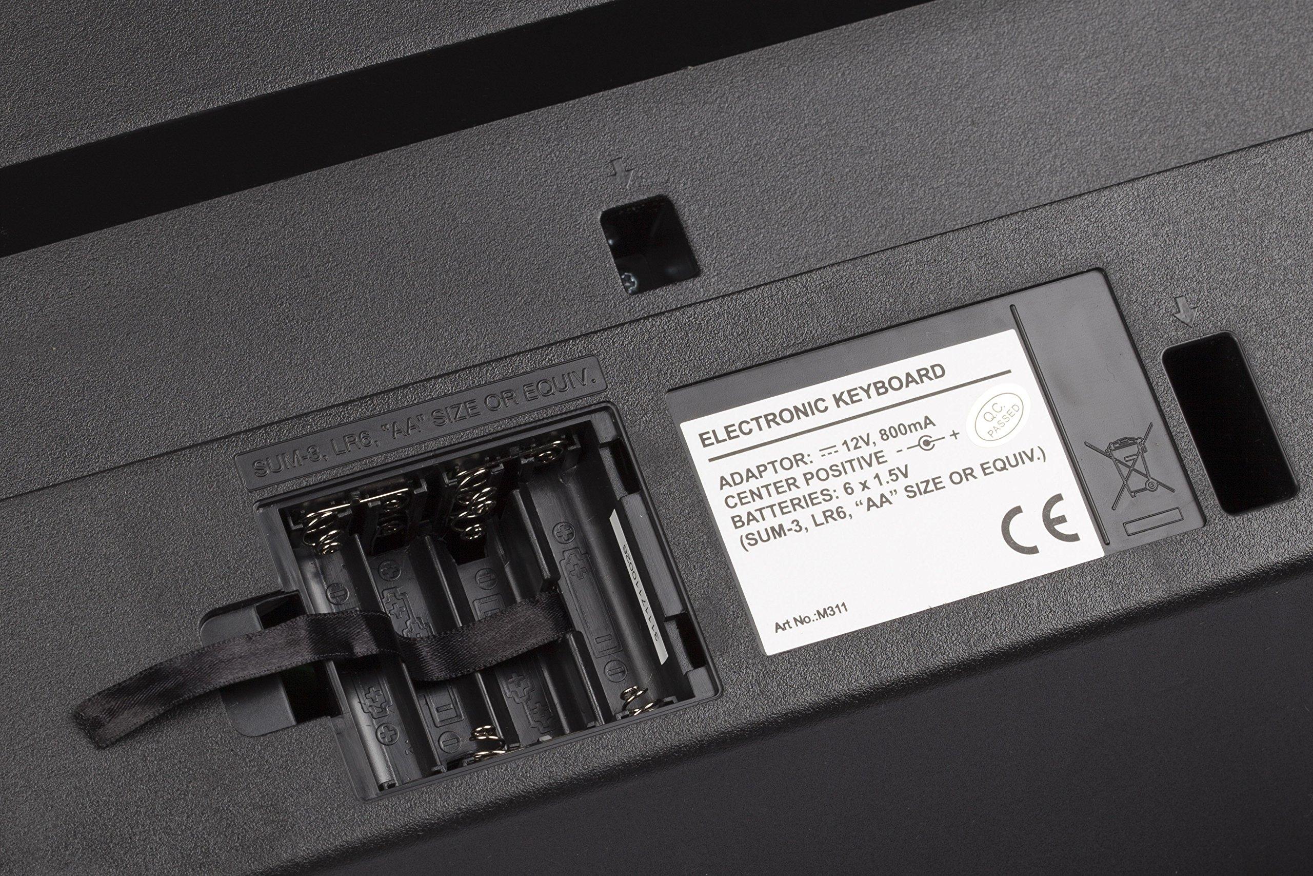 Medeli M311 Electronic Keyboard by Medeli (Image #9)