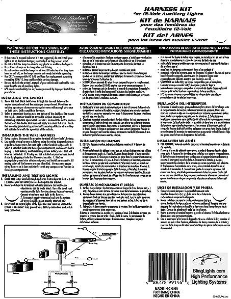 amazon com piaa 510 star white driving lamps kit for bmw r1200c rh amazon com