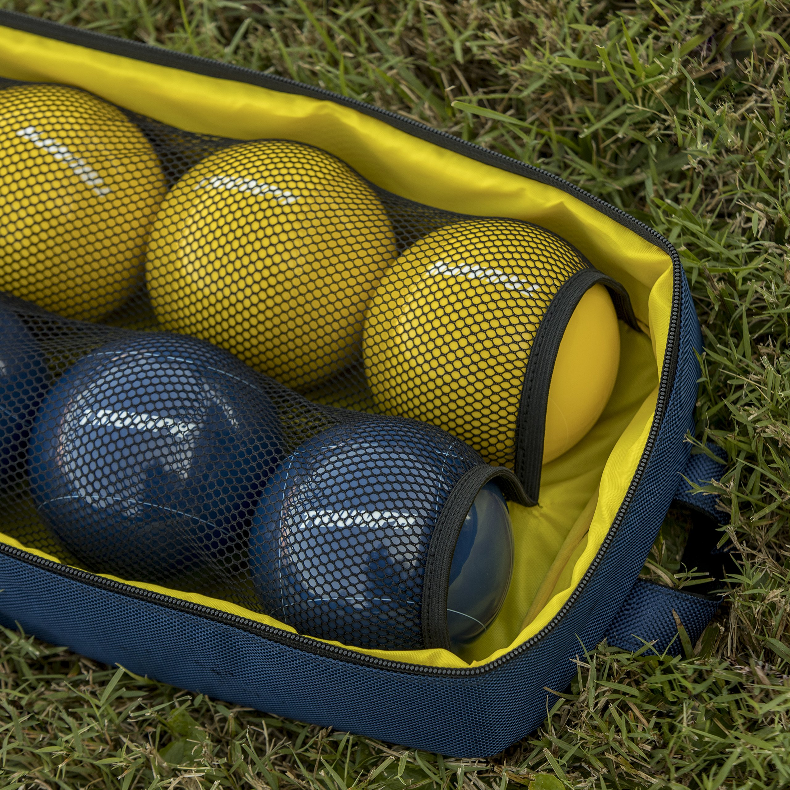 Triumph All Pro 100mm Bocce Set Includes Eight Bocce Balls, One 50mm Jack, and Carry Bag by Triumph Sports (Image #12)