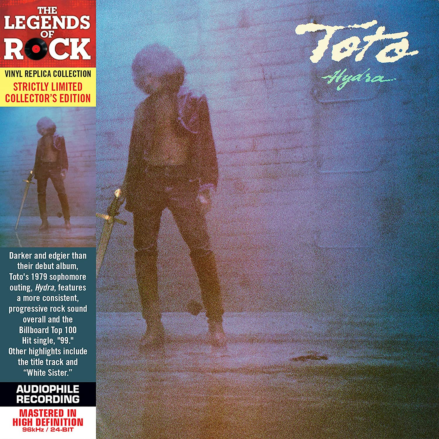 Toto - Hydra - Cardboard Sleeve - High-Definition CD Deluxe Vinyl ...