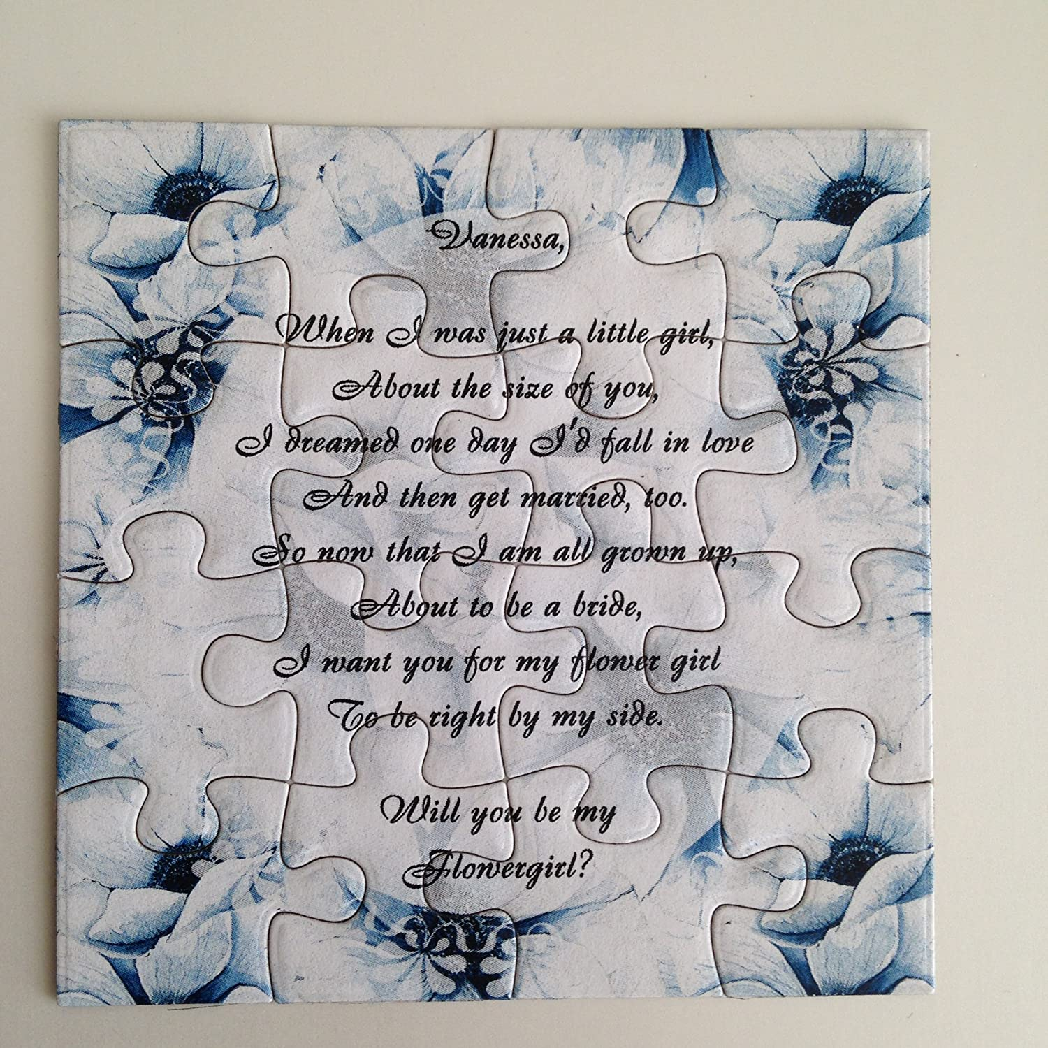 Amazon Com Bridesmaid Proposal Puzzle Will You Be My Maid Of Honor