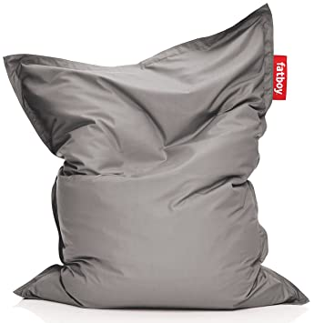 Fatboy Original Outdoor Sitzsack Grau 180x140cm Amazon De Kuche