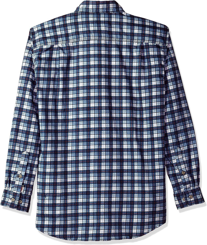 Carhartt Mens B/&t Flame Resistant Classic Plaid Long Sleeve Woven Shirt