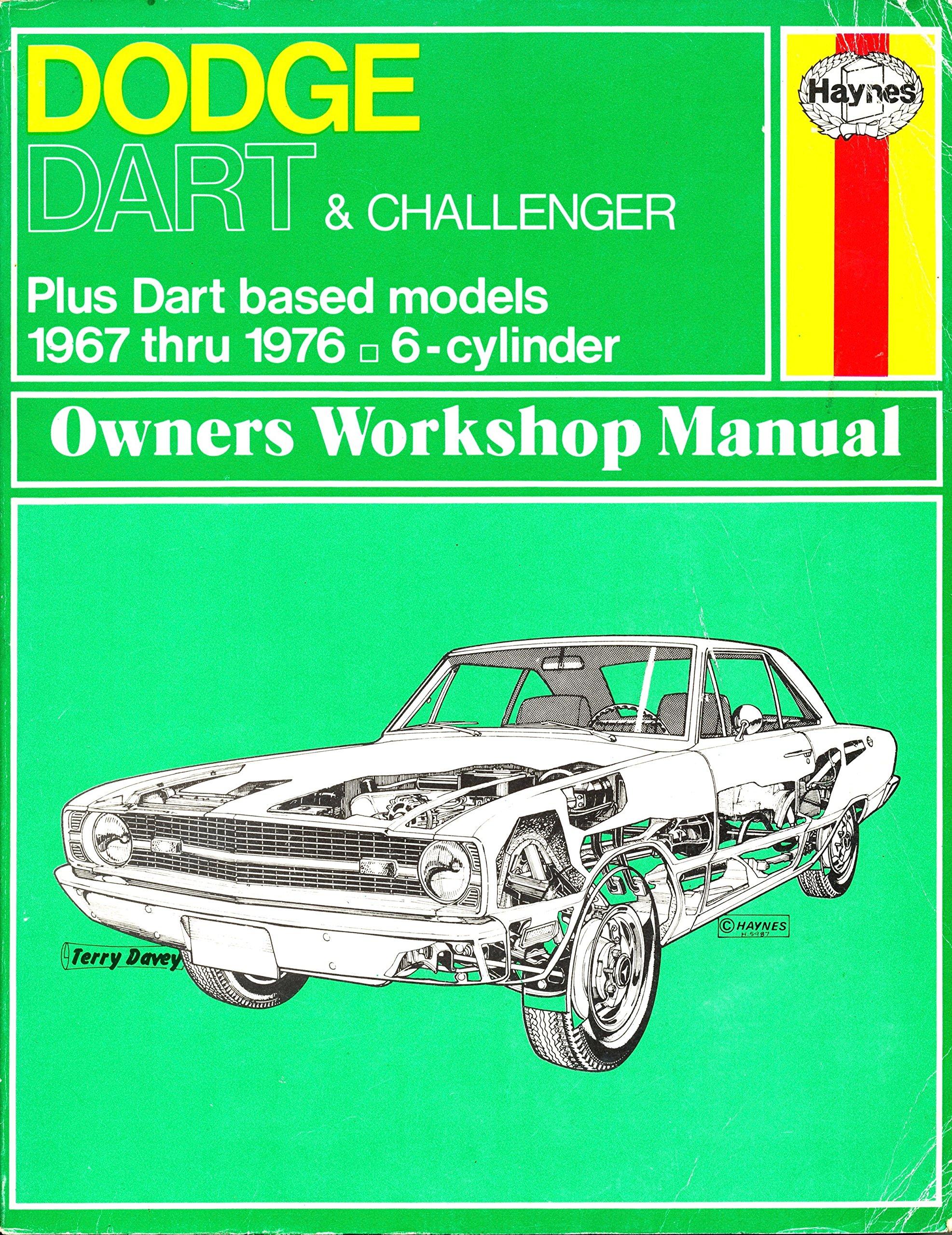 dodge challenger workshop manual