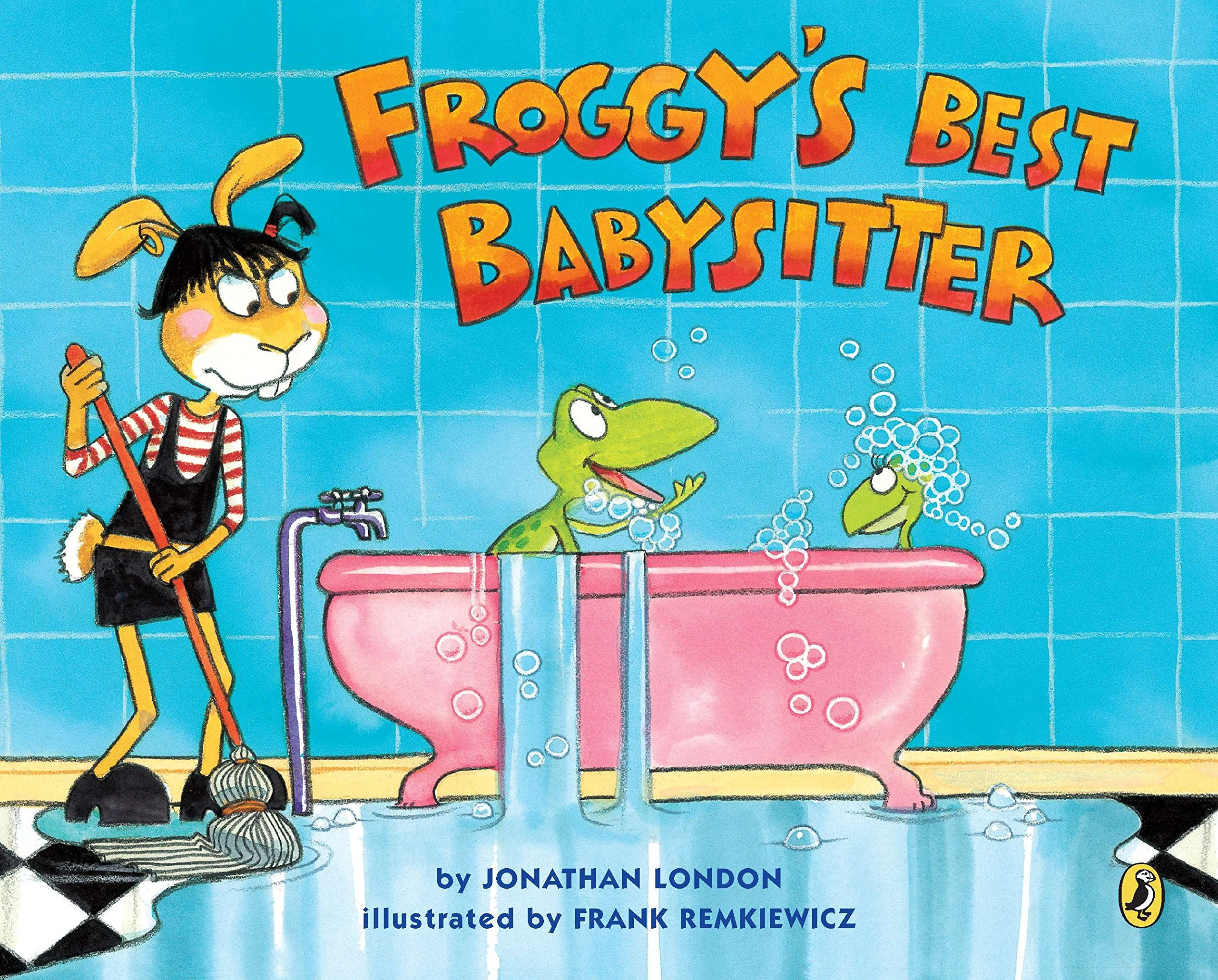 amazon froggy s best babysitter jonathan london frank