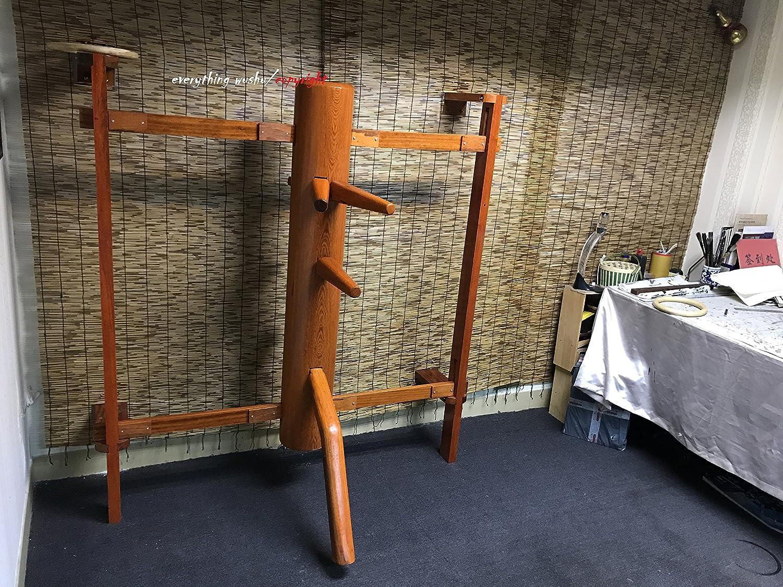Solid Wall Mounted Wing Chun Wooden Dummy Muk Yan Jongs Wooden Dummies Master Collection-Merbau everything wushu