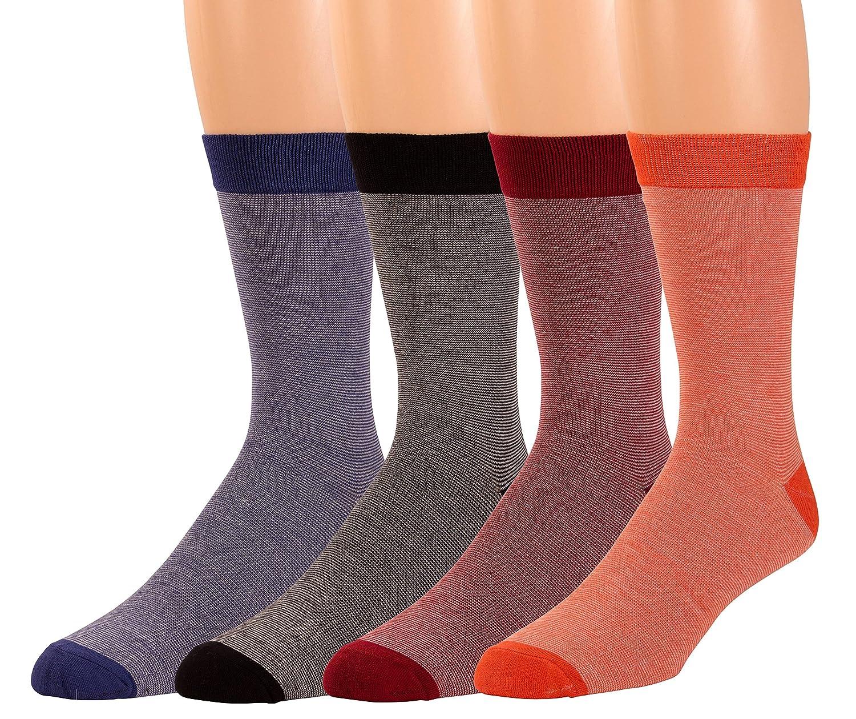 Zeke Non-Sweat Men's Crew Socks 4.0