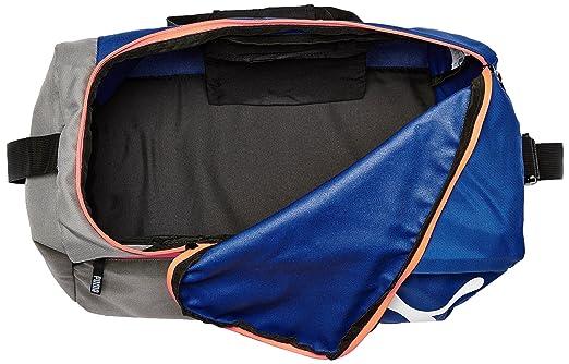 6eab411f9e Puma Polyester Mazarine Blue and Red Blast Gym Bag (Multicolour)   Amazon.in  Bags
