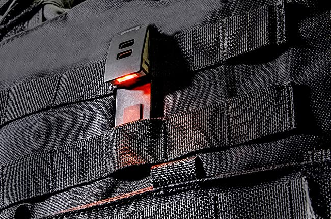 QuiqLiteX Hands Free Pocket Concealable Flashlight
