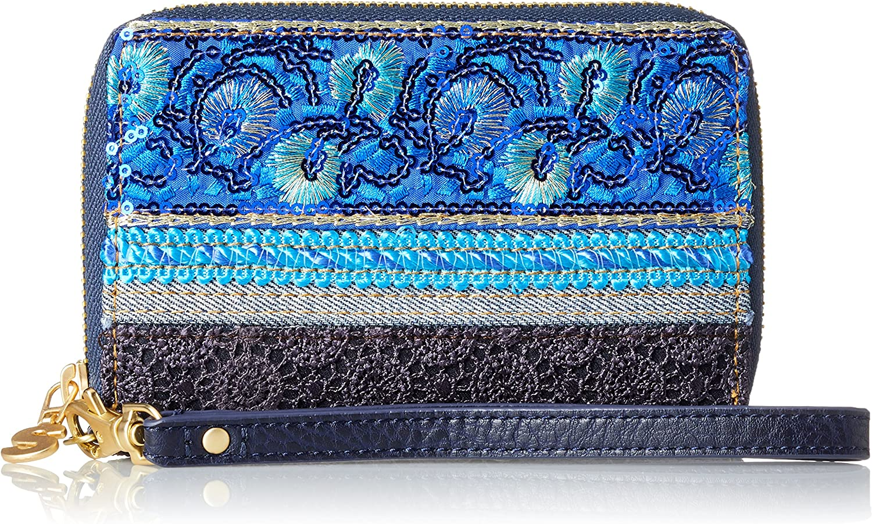Desigual - Mone_nuria Extraordinary Exoti. 5006. U, Mujer, Azul (Navy), 2x9.5x14 cm (b x h t)