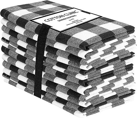 Clinica de algodon 12 Servilletas de Tela Vintage 50 x 50 cm ...