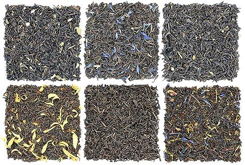 Handlowcy handlujący herbatą w przesileniu Próbnik do herbaty owocowej i letniej