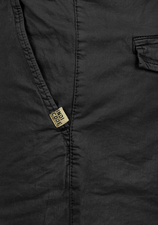 Indicode Abbey Herren Chino Shorts Bermuda Kurze Hose aus Stretch-Material Regular Fit