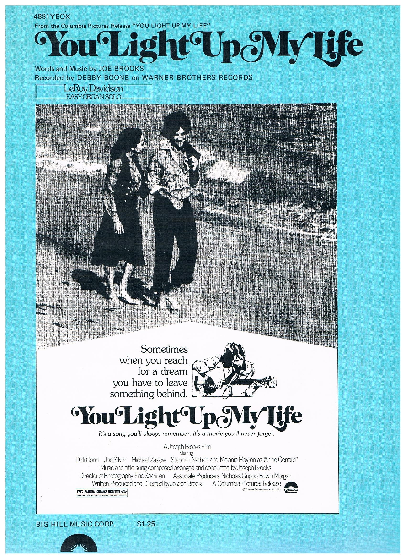 You Light Up My Life (Movie) Easy Organ Solo Debby Boone Arr. LeRoy  Davidson: Words And Music By Joe Brooks: Amazon.com: Books Design Inspirations