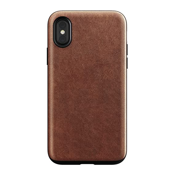 huge selection of 79877 11a9f Nomad Rugged Case for iPhone X | Rustic Brown Horween Leather