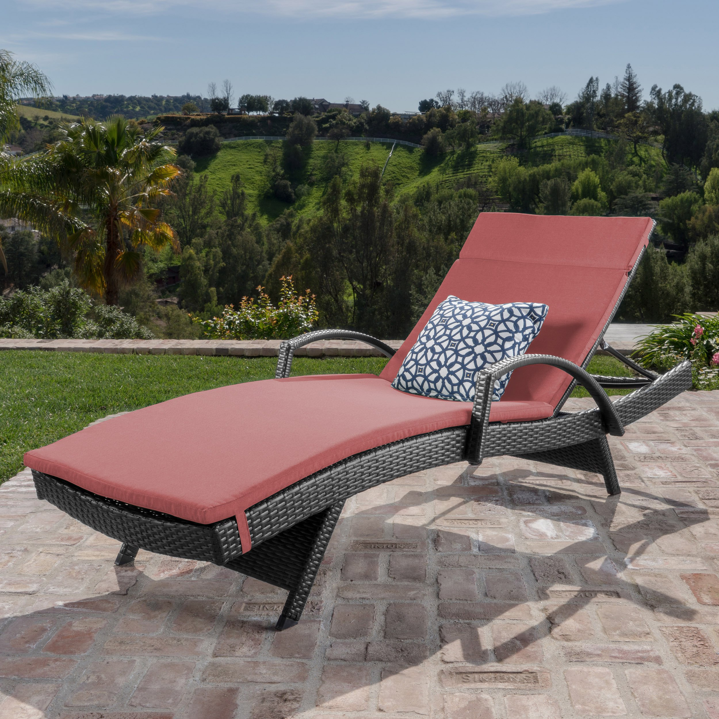 Christopher Knight Home 552 Salem Outdoor Chaise Lounge