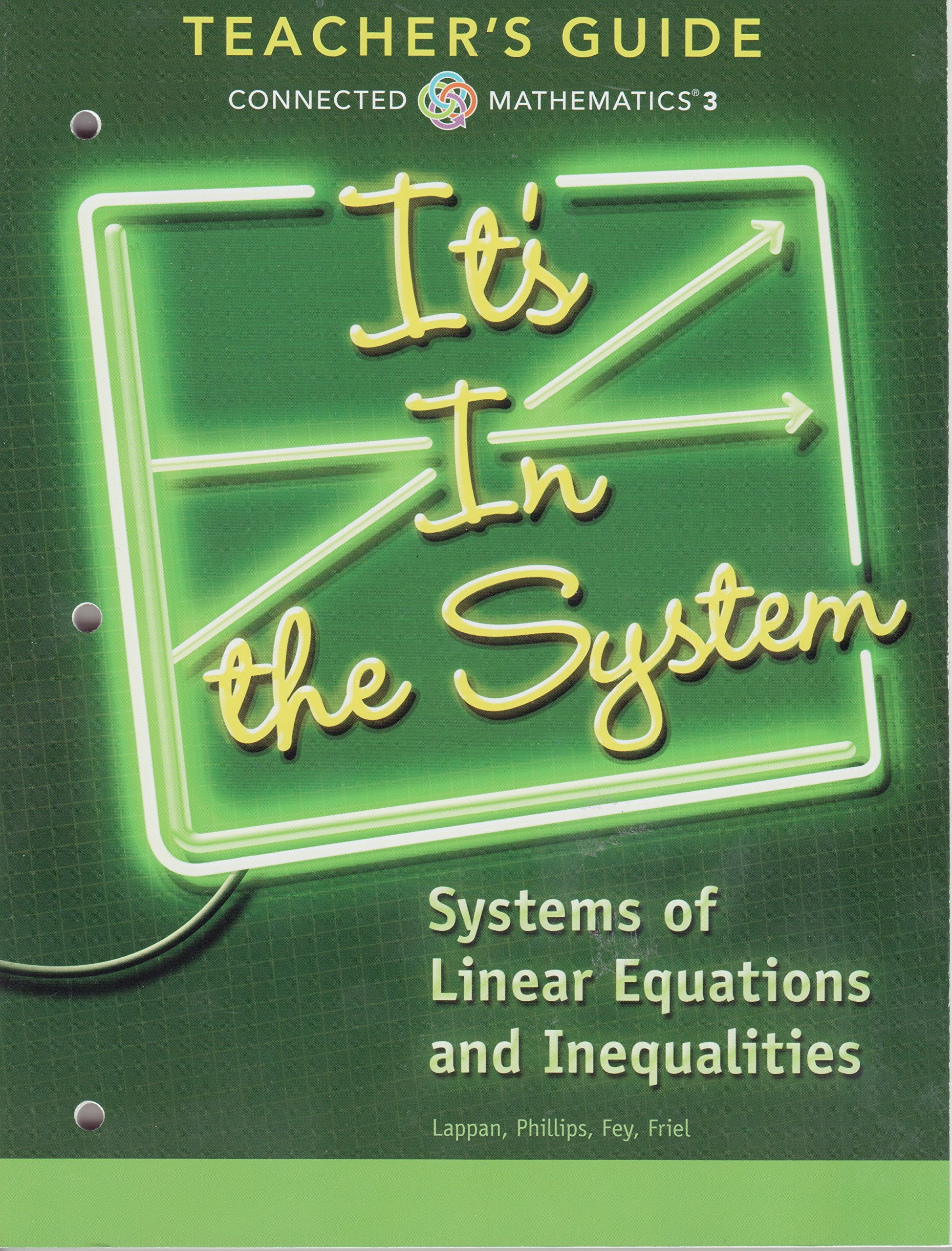 It's In the System; Systems of Linear Equations and Inequalities, Teacher's  Guide: 9780133276688: Amazon.com: Books
