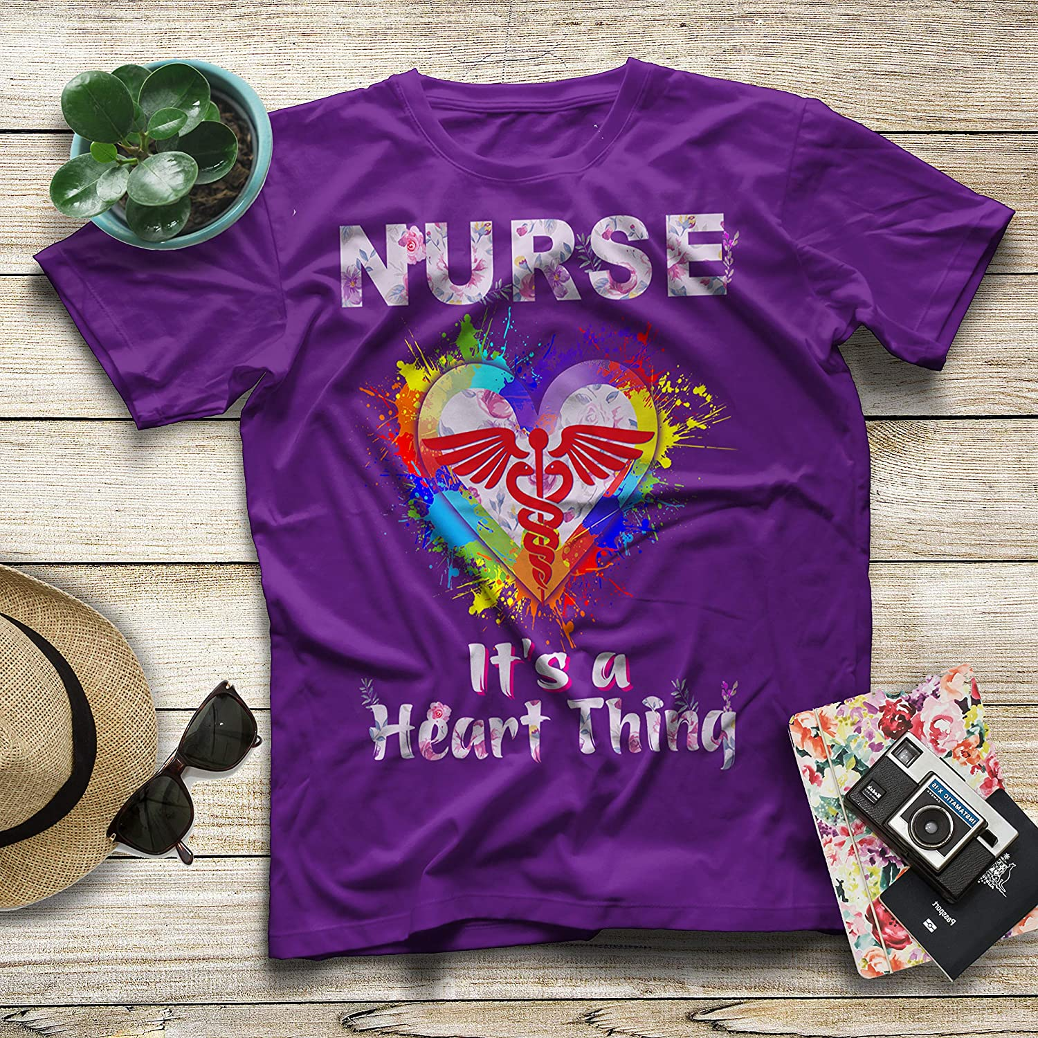 Diana Lysa Nurse Its A Heart Thing The Best Gift for Your Loved Nurse T-Shirt