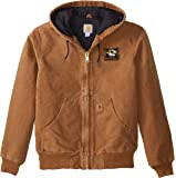 NCAA Missouri Tigers Boy's Quilted Flannel Lined Sandstone Active Jacket