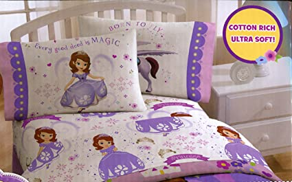 Disney Sofia The 1st Twin Sheet Set   Every Good Deed Is Magic   Bed Sheets