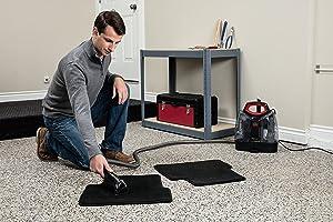 Reinigung von Teppichen mit dem Bissel MultiClean Waschsauger
