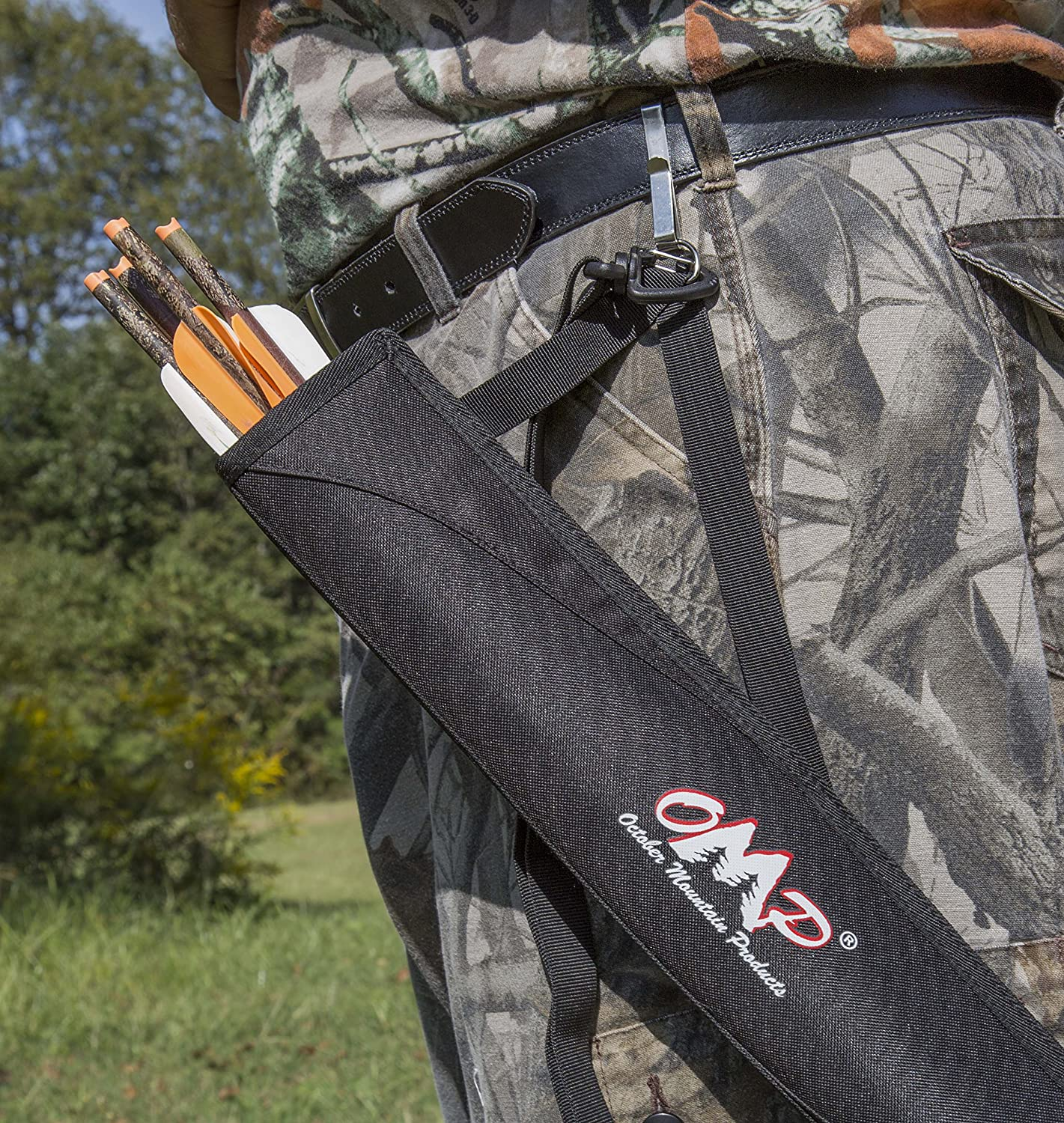 SAS Archery Side Tube Quiver with Belt Clip