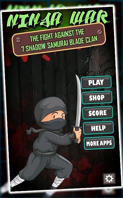 Amazon.com: Ninja War : The fight against the 7 shadow ...