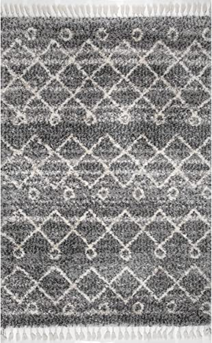 nuLOOM Roseanne Transitional Shag Area Rug
