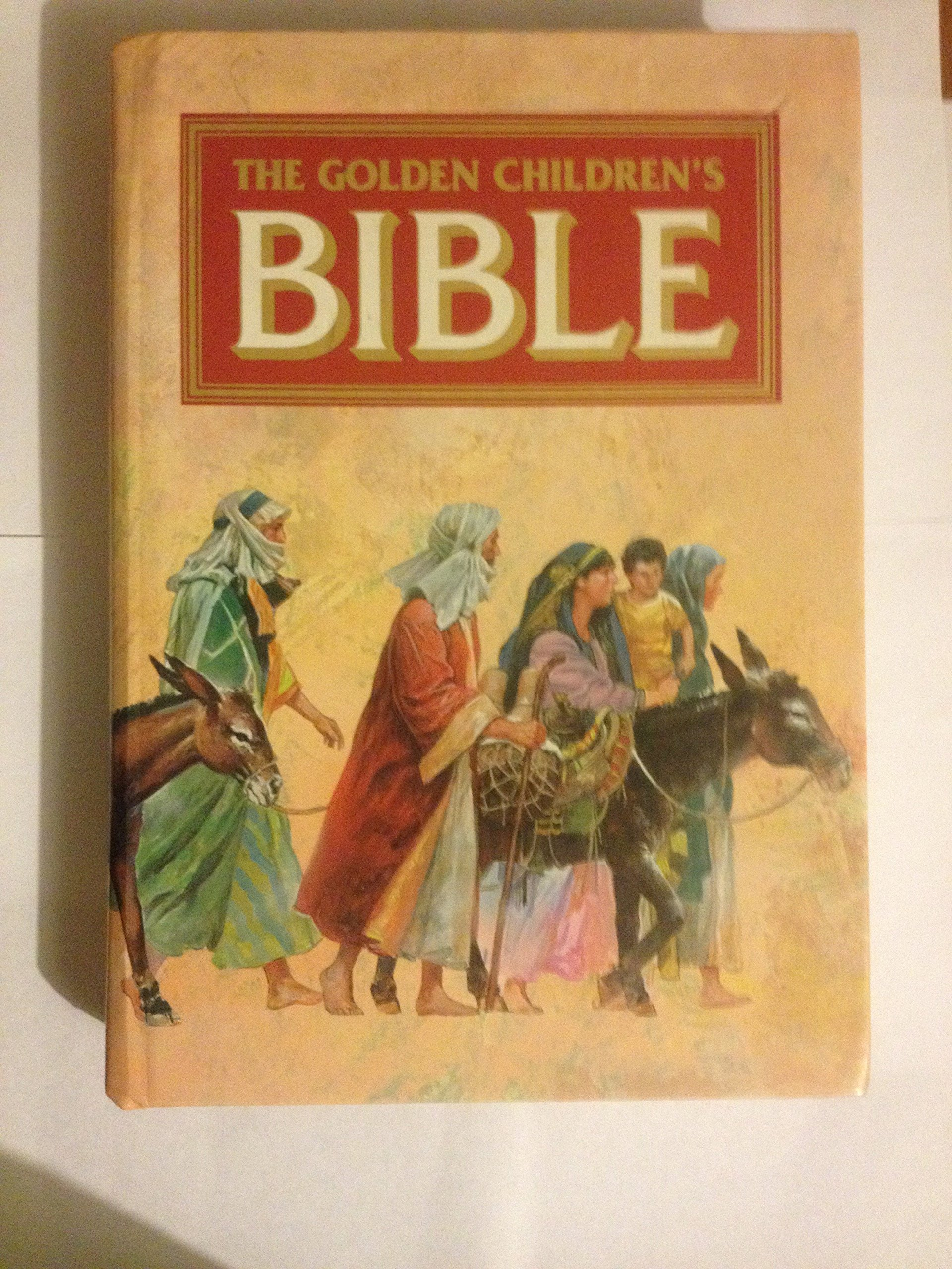 the golden children u0027s bible 1993 hardcover edition isbn