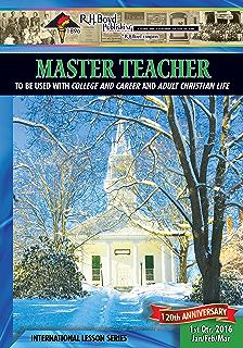 Master teacher 2nd quarter 2016 sunday school kindle edition by master teacher 1st quarter 2016 sunday school fandeluxe Choice Image