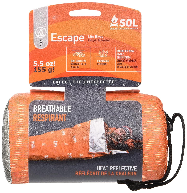 S.O.L. Survive Outdoors Longer Escape Lite Bivvy Adventure Medical Kits CA BMC0140-1227