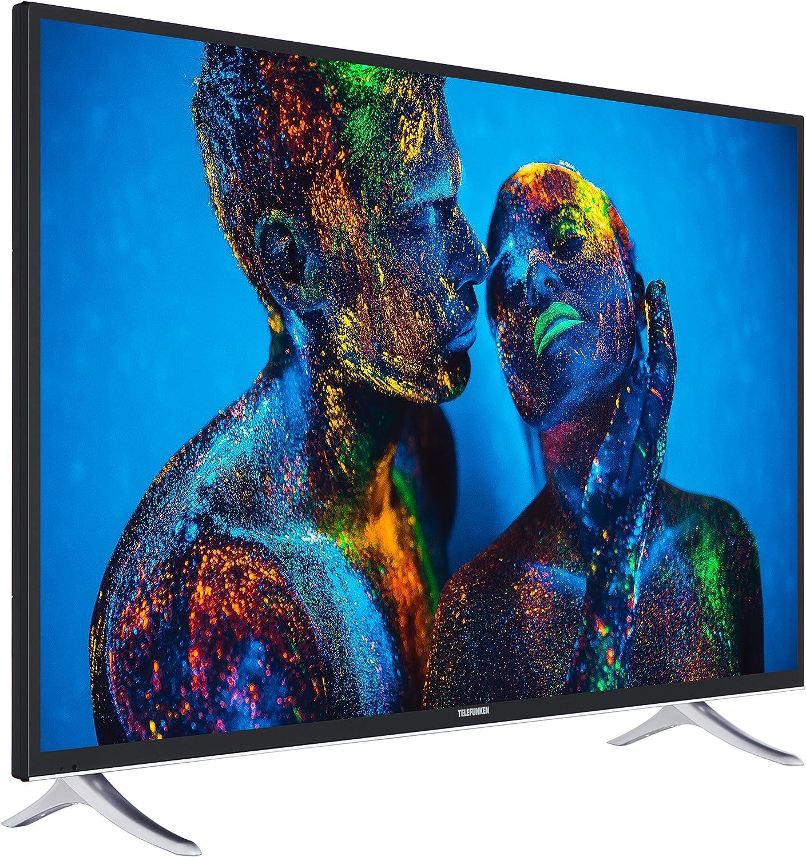 Telefunken xu55 C401 140 cm (55 Pulgadas) televisor (4 K Ultra HD, sintonizador Triple, DVB-T2 H.265/hevc, Smart TV, Netflix): Amazon.es: Electrónica