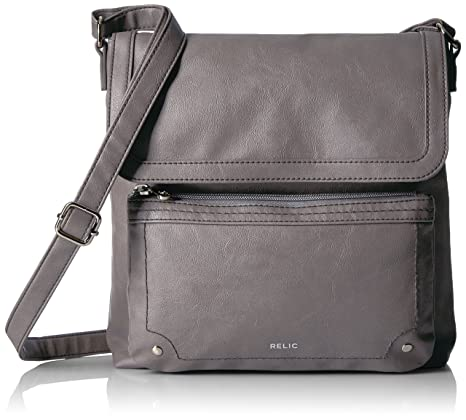 d57638c8863 Buy Relic Evie Flap Crossbody, Smoke Online at Low Prices in India ...