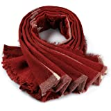 Womens Scarfs Plaid Scarfs for Women Checked Wraps Large Lattice Scarves Shawl