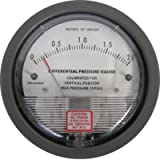 Differential Pressure Gauge, 0-2 Inches WC