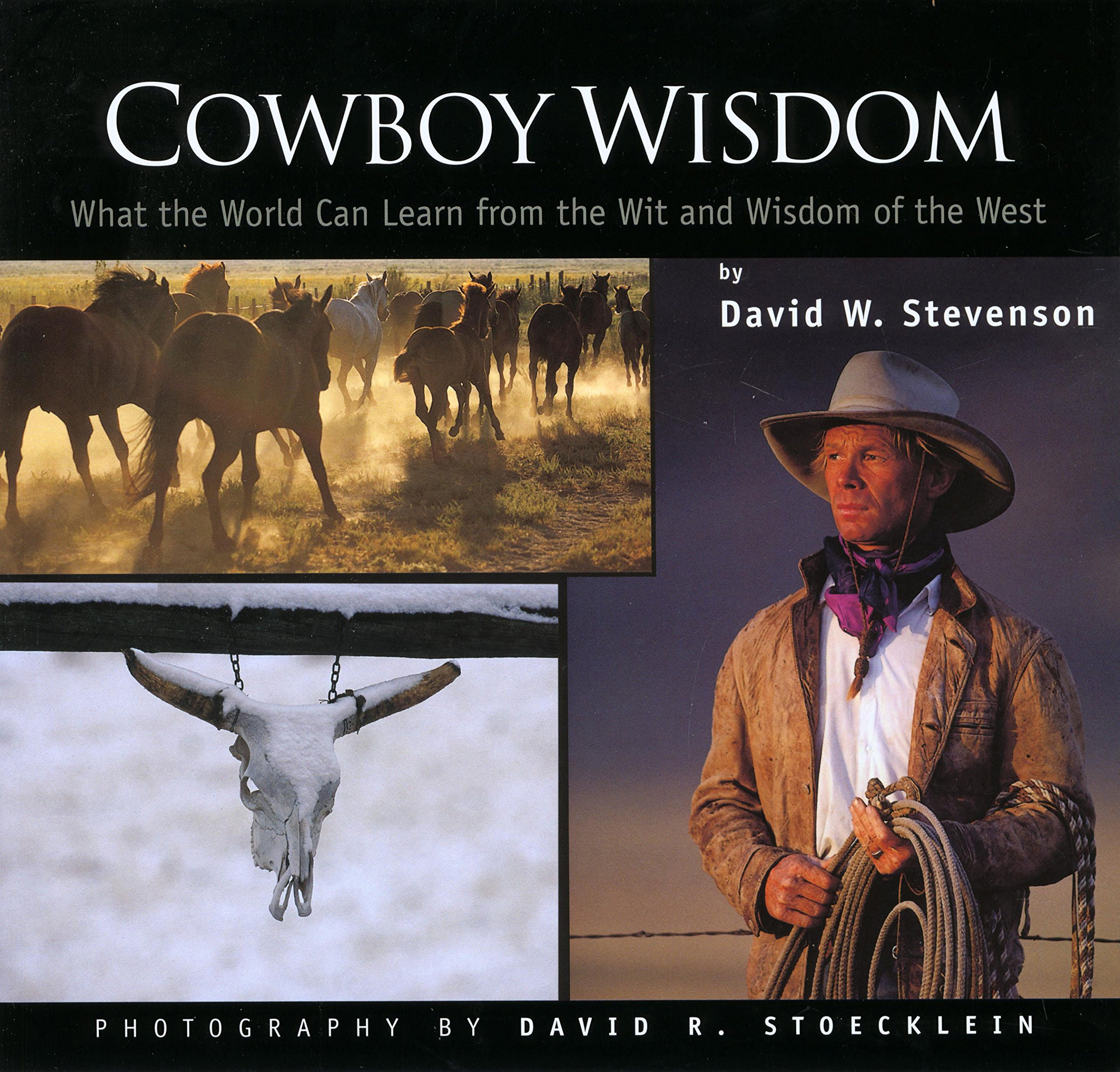 Cowboy Wisdom David Stevenson University Of St Andrews David R