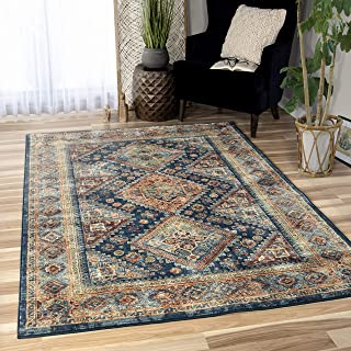"""product image for Orian Rugs Bohemian Olympus Area Rug, 7'10"""" x 10'10"""", Navy"""