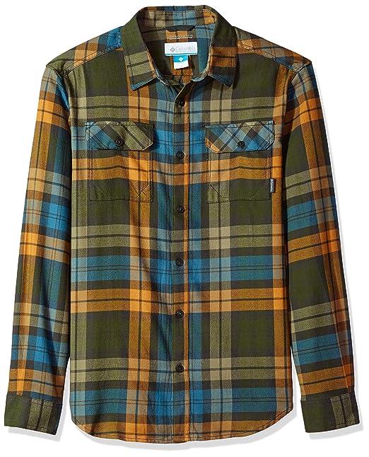 Columbia Camisa de manga larga de franela Iii con arma de fuego para ...