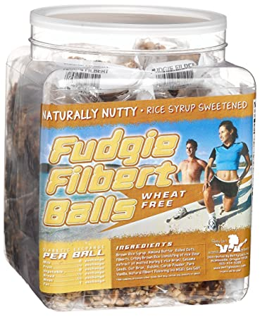 Amazoncom Betty Lous Fudgie Filbert Ball 14 Ounce Balls 40