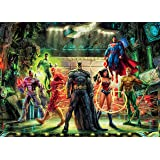 Ceaco 3154-2 Thomas Kinkade DC Comics The Justice League Puzzle 1000 Pieces