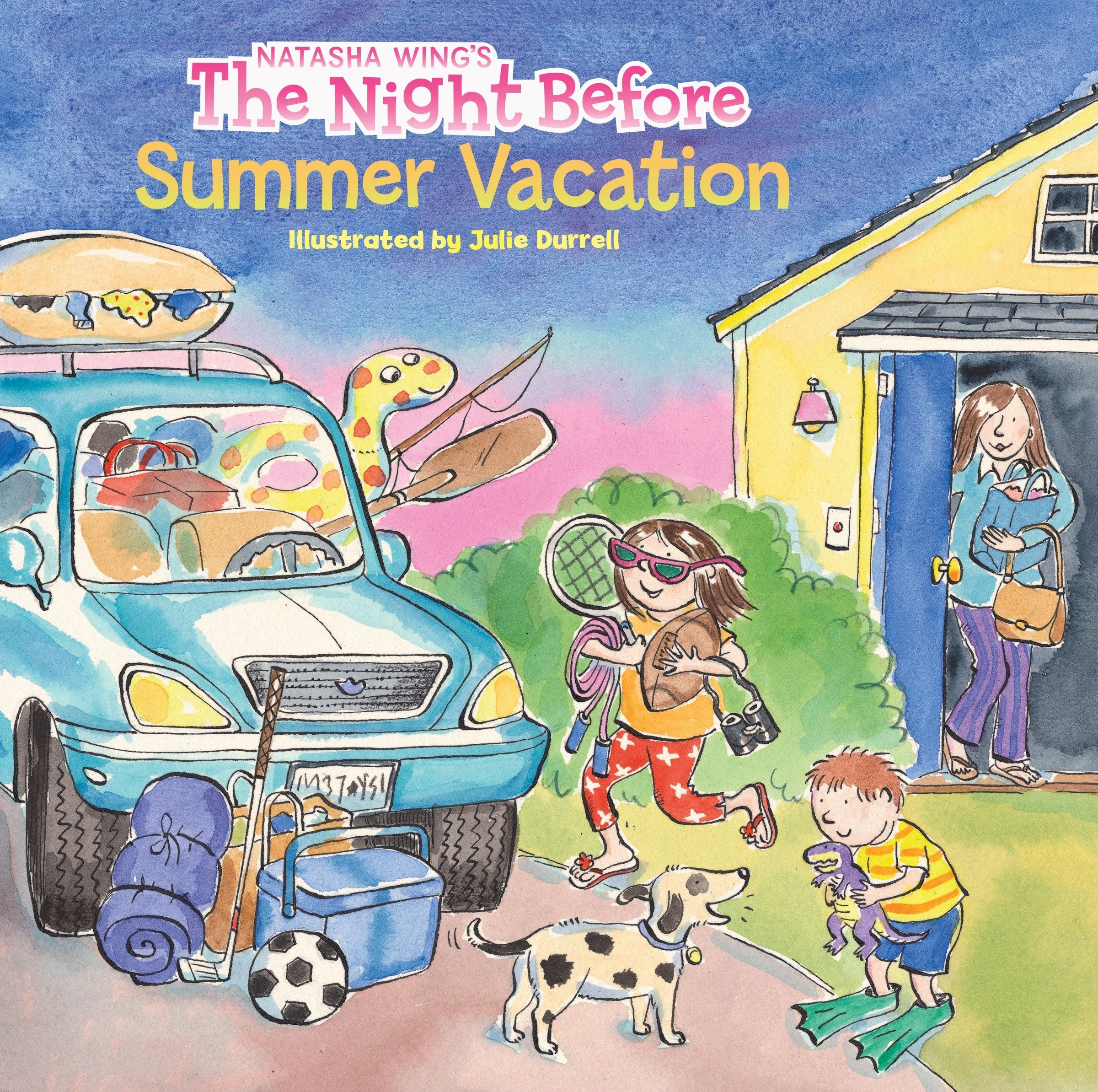 Amazon.com: The Night Before Summer Vacation (9780448428307): Wing ...