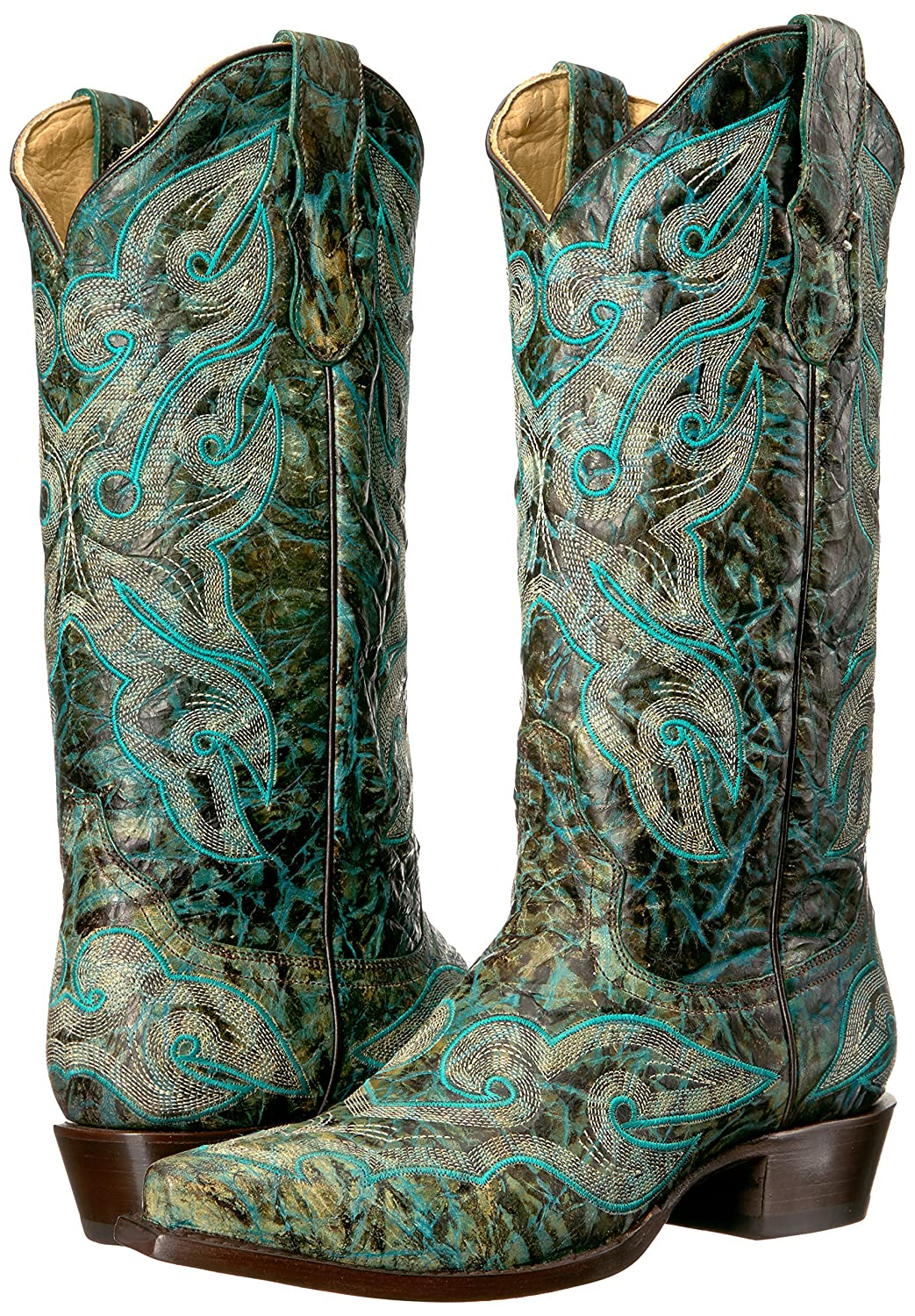 Stetson Boot Women's Vintage Work Boot Stetson B00U9Y6CLI 7 D US|Green a38c13